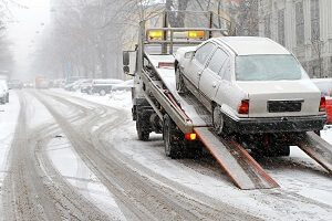 Springfield Towing snow